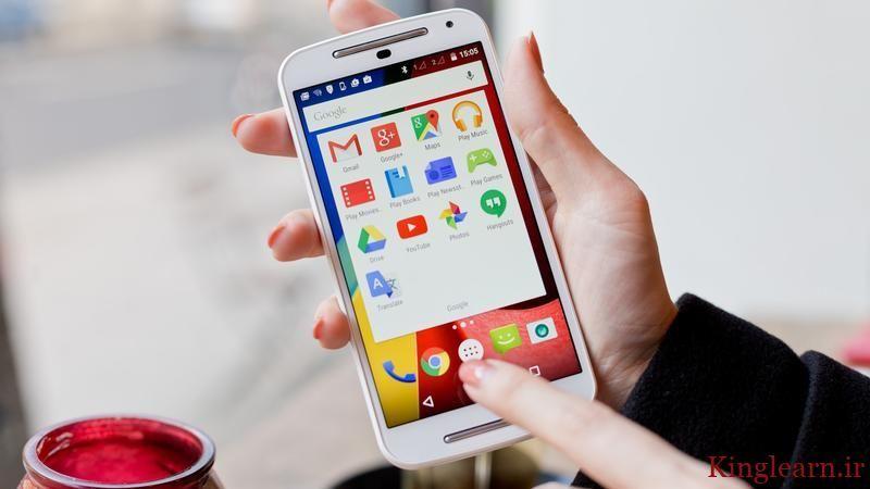 آموزش تغییر سایز و نوع فونت گوشی های اندرویدی